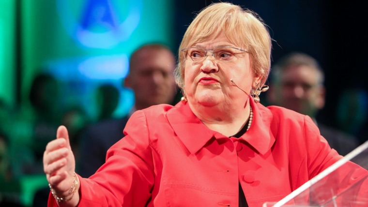 GLAS Party Chairwoman Anka Mrak-Taritaš (Photo: Filip Kos/PIXSELL)