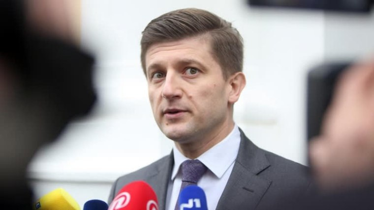 Finance Minister Zdravko Marić (Photo: Kristina Stedul Fabac/PIXSELL)