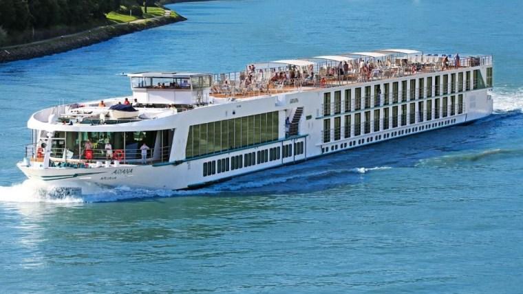 "Flusskreuzfahrtschiff ""Ariana"" (Foto: screenshot/riverscanner.com)"