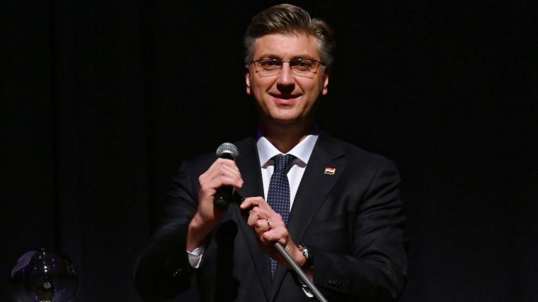 Der kroatische Premierminister Andrej Plenkovic (Foto: Henning Kaiser / DPA / PIXSELL)