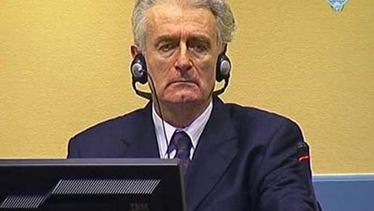 Radovan Karadžić (Foto: HRT)