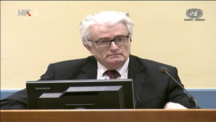 Former Bosnian Serb leader Radovan Karadžić guilty of genocide, crimes against humanity and violation of the laws and customs of war. (Photo: Tihomir Vinković)