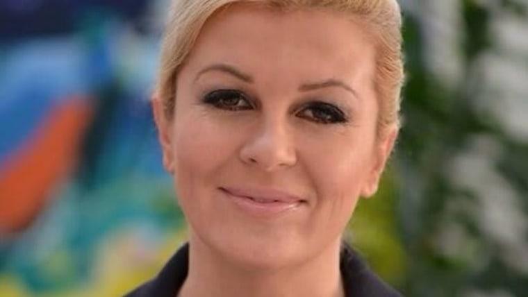 Kolinda Grabar-Kitarović, kroatische Präsidentin (Foto: HRT)
