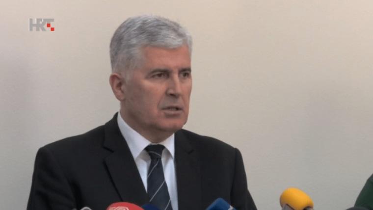 Präsident der kroatischen Volksversammlung Dragan Čović (Foto: HRT)