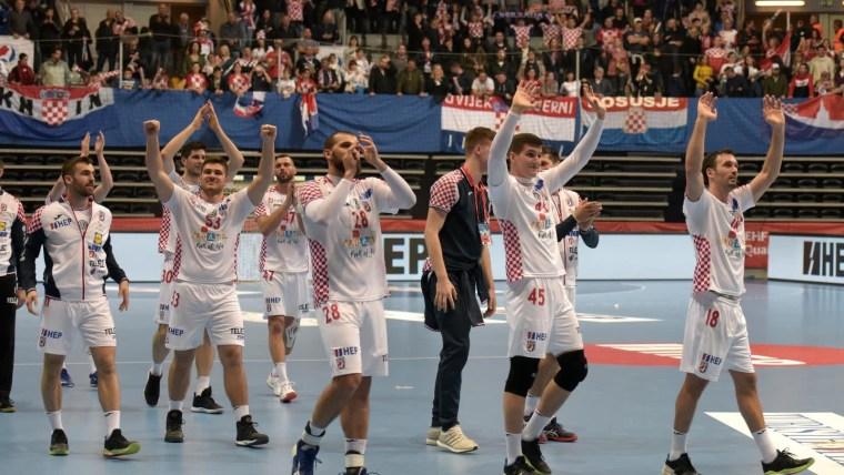 Selección croata de hándbol (Foto: Dino Stanin/PIXSELL)
