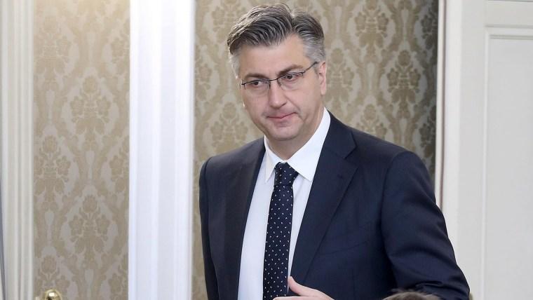 Prime Minister Andrej Plenković (R) (Photo: Patrik Macek/PIXSELL)