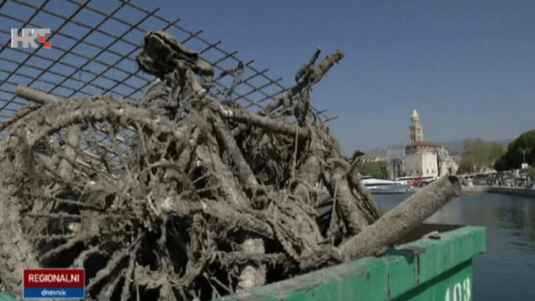 Reinigungsaktion in Split (Foto: HRT)