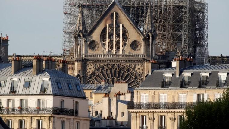 Notre Dame, Paris (Photo: Philippe Wojazer/REUTERS)