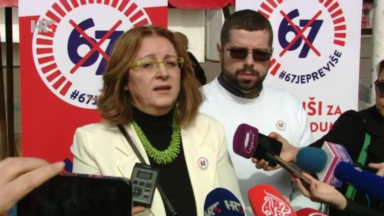 Aktivistin Ana Miličević Pezelj (Foto: HRT)