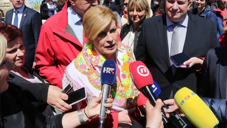 President Kolinda Grabar-Kitarović (Photo: Goran Kovacic/PIXSELL)