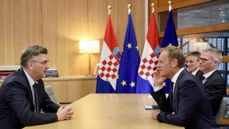 Primer ministro Andrej Plenković (Foto: Twitter))