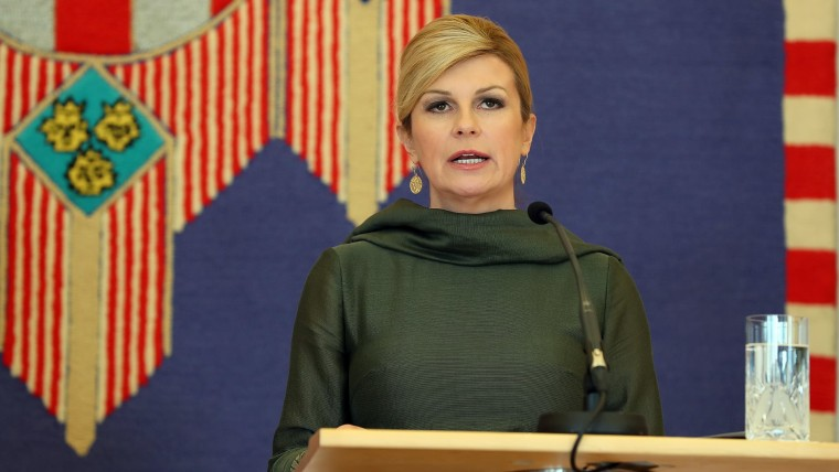 President Kolinda Grabar Kitarović (Photo: Goran Stanzl/PIXSELL)