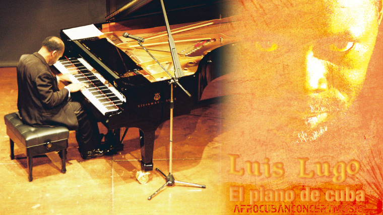Luis Lugo el pianista de Cuba (Foto: archivo personal)