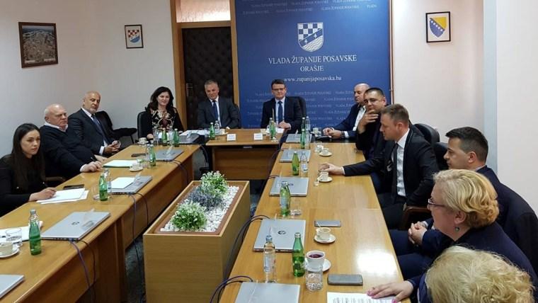 Državni tajnik Zvonko Milas u posjetu Županiji Posavskoj ( Foto: Središnji državni ured za Hrvate izvan RH)