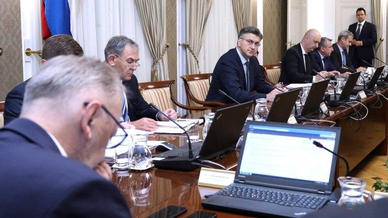 Regierungssitzung (Foto: Patrik Macek / PIXSELL)