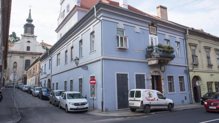 Rodna kuća bana Josipa Jelačića u Petrovaradinu. (Foto: Davor Javorović/ Pixsell)