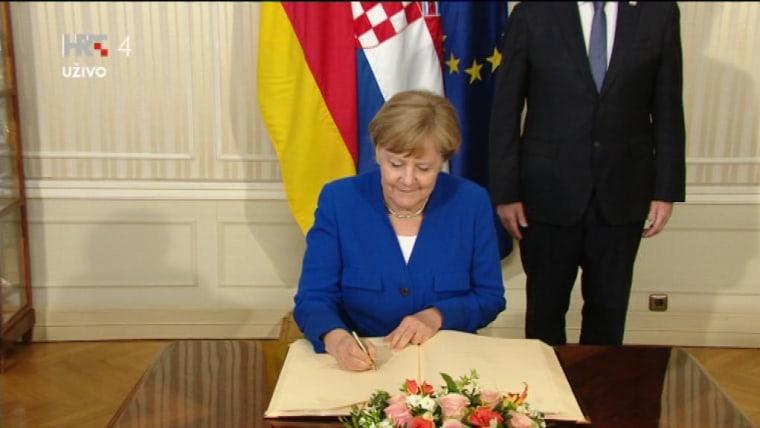 Bundeskanzlerin Angela Merkel (Foto: HRT)