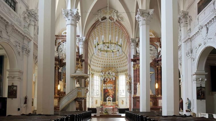 Unutrašnjost crkve Am Hof (Foto: screenshot/wikimedia.org)