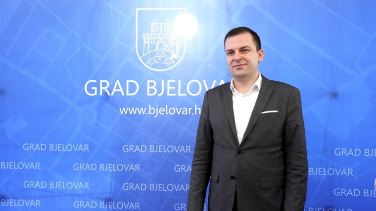 Dario Hrebak, Alcalde de Bjelovar (Foto: Patrik Macek/PIXSELL)