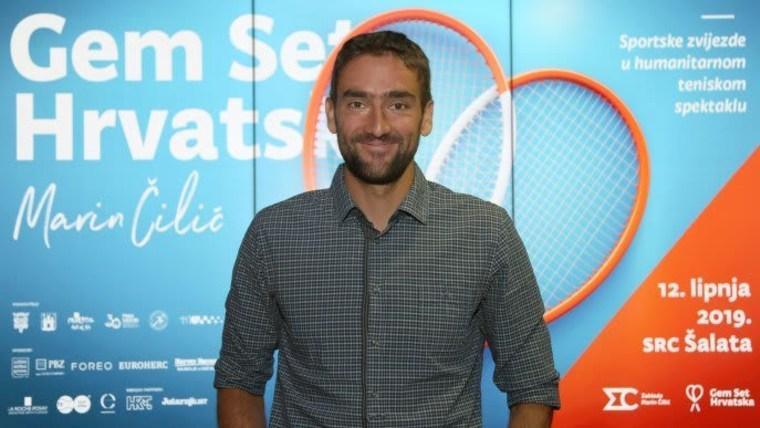 Der kroatische Tennisspieler Marin Čilić (Foto: Marin Tironi_PIXSELL)
