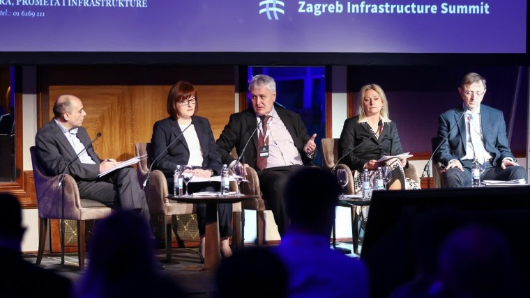 Conferencia sobre infraestructura (Foto: Borna Filic/PIXSELL)