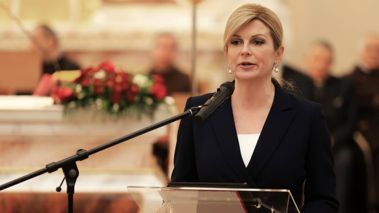 President Kolinda Grabar Kitarović (Photo: Davor Javorovic/PIXSELL)