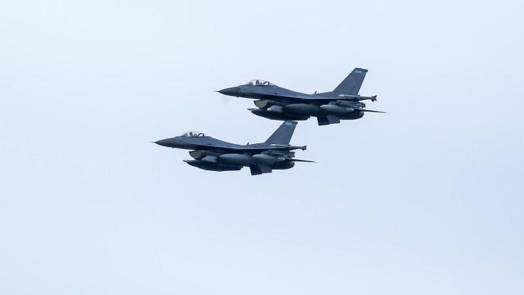 Aviones de guerra (Foto: Borna FIlic/PIXSELL)