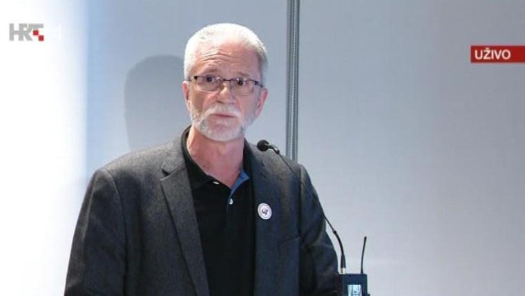 Union leader Krešimir Sever (Photo: screenshot/HRT)