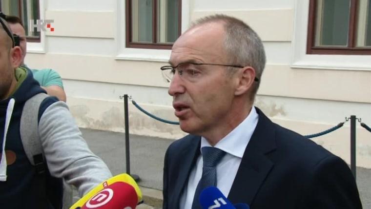 Minister of Defence Damir Krstičević (Photo: HRT)