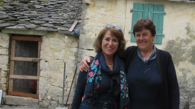Patricia Štambuk (lijevo) u  Selcima na otoku Braču (Foto: obiteljska arhiva Patricije Štambuk)Foto: Patricia Štambuk