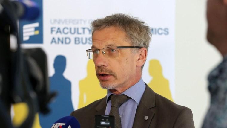 Gobernador del Banco Nacional Croata Boris Vujčić (Foto:Goran Kovacic/PIXSELL)