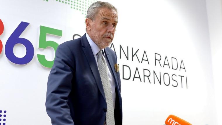 Milan Bandić, Zagreber Bürgermeister (Foto:HRT)