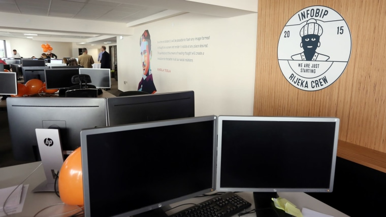 INFOBIP offices in Rijeka (Photo: Goran Kovacic/PIXSELL)
