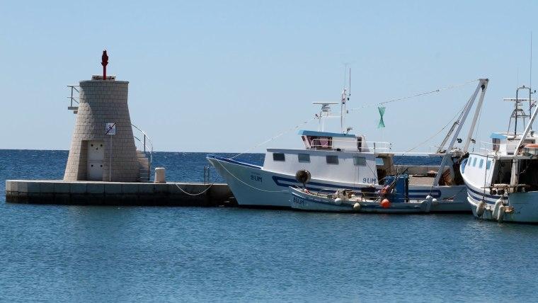 Fishing boats in Savudrija Bay (Photo: Goran Kovacic/PIXSELL)