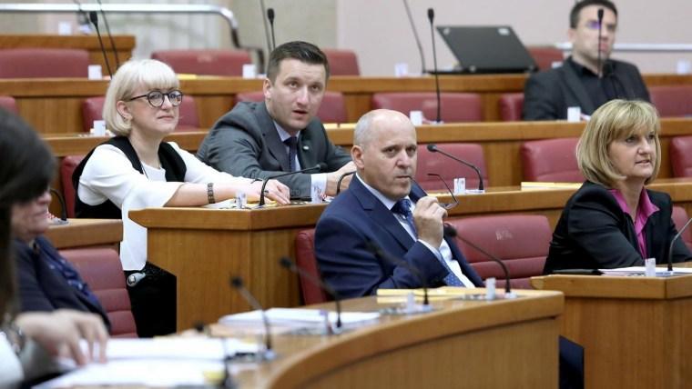 Comisión parlamentaria (Foto:  Patrik Macek / PIXSELL)