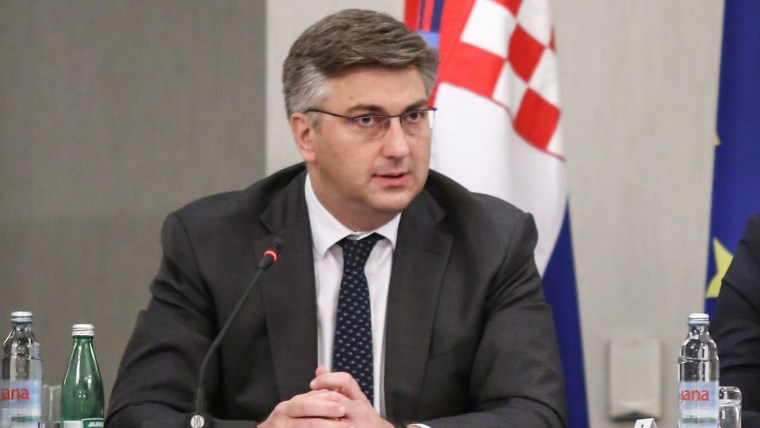 Prime Minister Andrej Plenković (Photo: Igor Soban/PIXSELL)