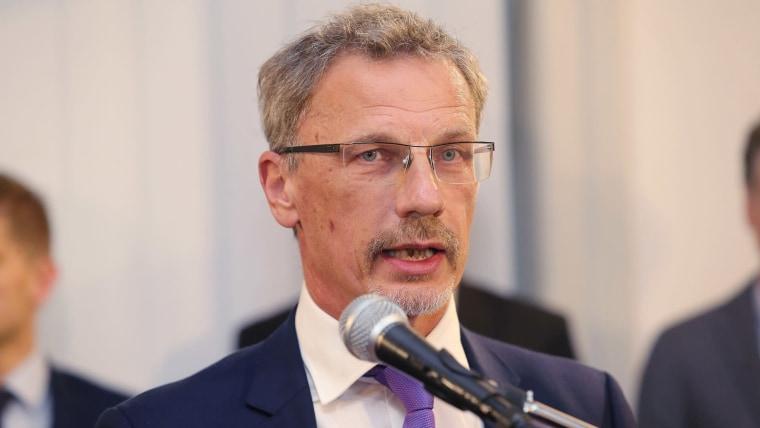 Boris Vujčić, Gobernador del Banco Nacional Croata (Foto: Dalibor Urukalovic/PIXSELL)