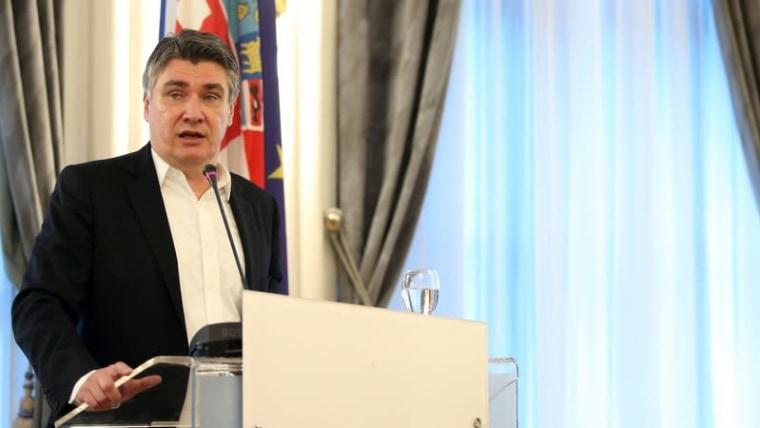 Zoran Milanović announces his candidacy for president (Luka Stanzl/PIXSELL)