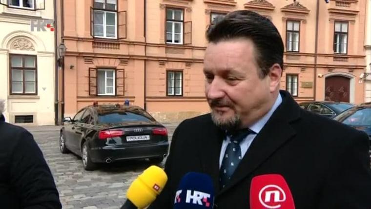 Verwaltungsminister Lovro Kuščević (Foto: HRT)