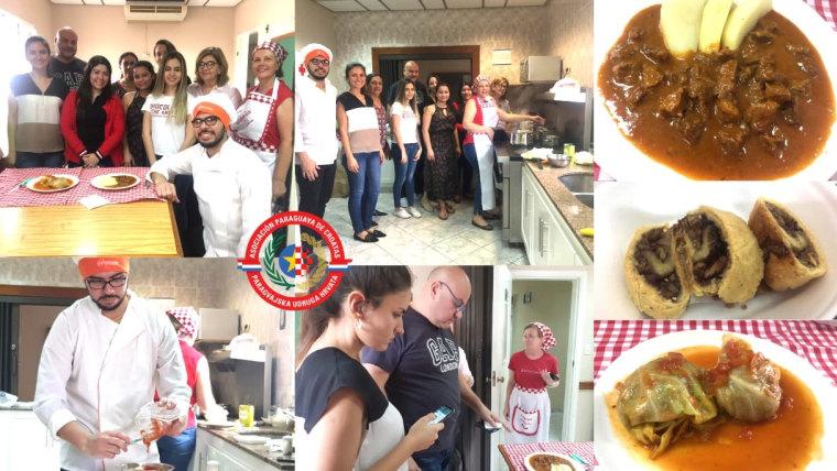Cocina croata en Asunción (Foto: screenshot)