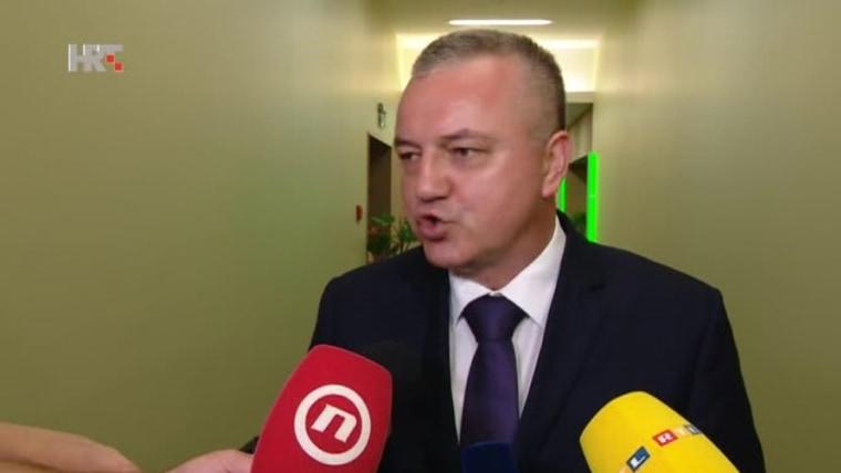 Wirtschaftsminister Darko Horvat, (Foto: HRT)