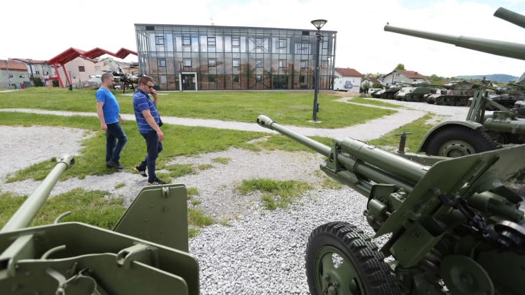 Muzej domovinskog rata u Karlovcu. (Foto: Kristina Štedul-Fabac/ Pixsell)