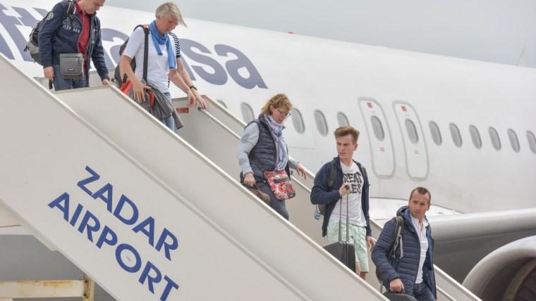 Aeropuerto de Zadar (Foto: Dino Stanin/PIXSELL)