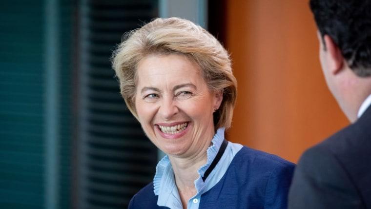 Nueva mandataria de la Comisión Europea (Foto:Kay Nietfeld/DPA/PIXSELL)