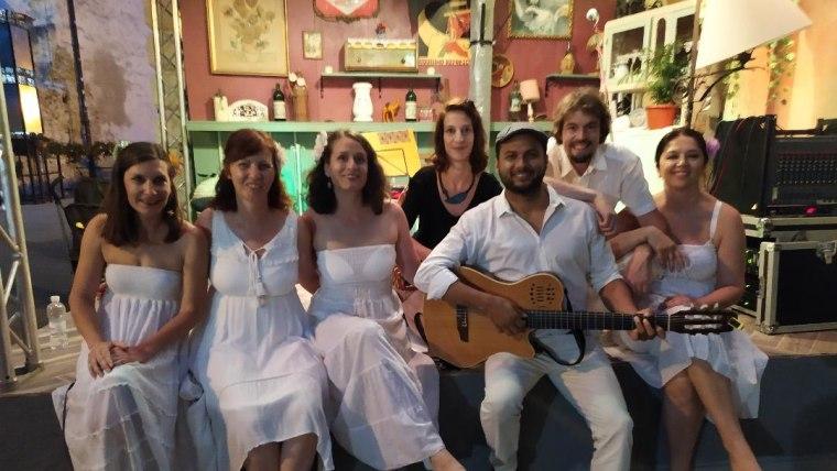 Concierto del coro Bossa Banda (Foto: David Rey - La Voz de Croacia)