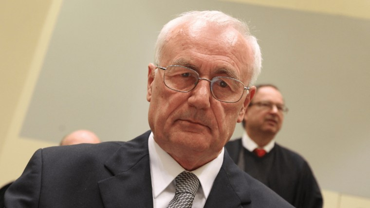 Der ehemalige jugoslawische GeheimdienstlerJosipPerković (Foto: Foto: Boris Scitar_Vecernji list_PIXSELL)
