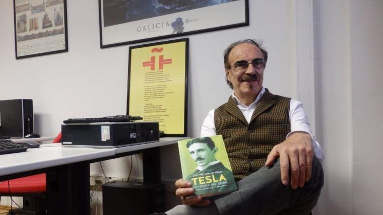 Escritor Luis Martínez de Mingo (Foto: cortesía Instituto Cervantes Zagreb)