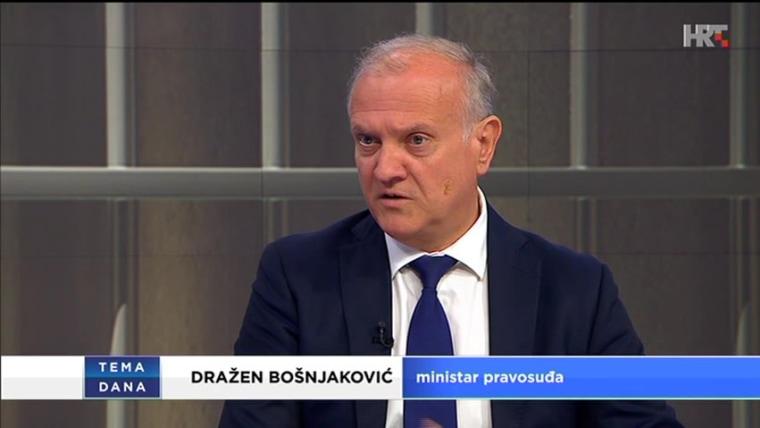 Justizminister Dražen Bošnjaković (Foto: HRT)