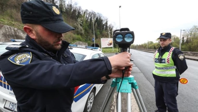Stricter penalties for traffic violations were voted in by parliament. (Photo: Robert Anic/PIXSELL)