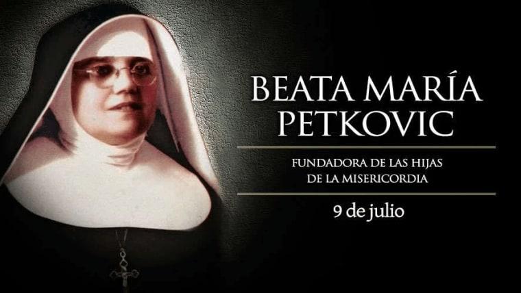Beata María de Jesús Crucificado Petković (Foto: screenshot)